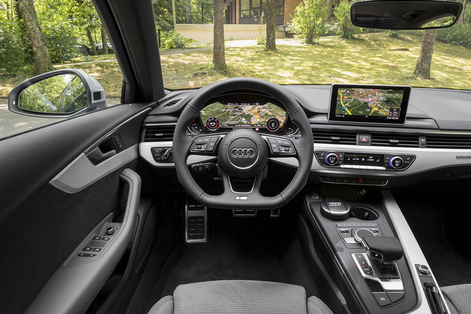 Audi A4 Avant Interior Newsdiauto